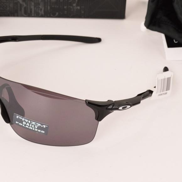 62e0b4b53d NIB Oakley EVZero Pitch Polished Black Prizm Daily
